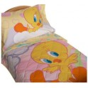Tweety Toddler Bedding 4 Piece Set