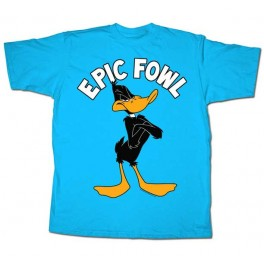 Daffy Duck Epic Fowl Adult T-Shirt