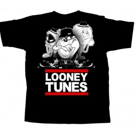 Looney Tunes Adult T-shirt Featuring Marvin, Gossamer and Taz