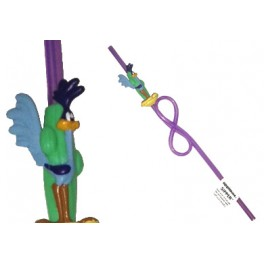 Roadrunner Silly Sipper Straw
