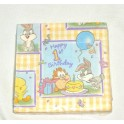 Baby Looney Tunes 1st Celebrations Birthday Napkins