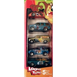 Looney Tunes Die Cast Car 5 Pack