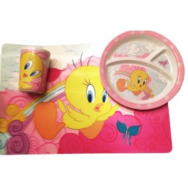 Tweety Bird Kids Meal Set