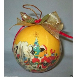 Looney Tunes Group Christmas Ball Ornament
