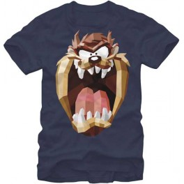 Taz Geometric Adult T-Shirt