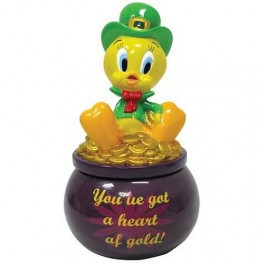 Tweety Heart of Gold Trinket Box
