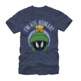 Marvin the Martian I'm Not Human Adult Graphic T-Shirt