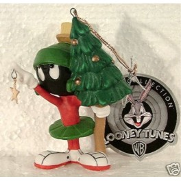 Marvin the Martian 'Aim For The Stars' Porcelain Christmas Ornament