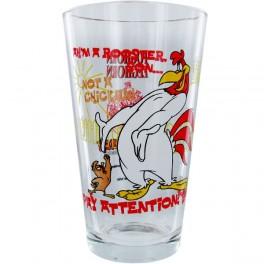 Foghorn Leghorn and Henery Hawk Pint Glass
