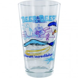 "Looney Tunes Roadrunner ""Toon Tumblers"" Pint Glass"